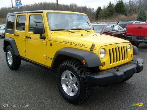 jeep rubicon yellow 2008 detonator yellow jeep wrangler unlimited rubicon 4x4