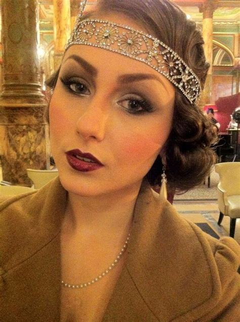 how to style hair for great gatsby party acid doll vintage gatsby makeup hair makeup art