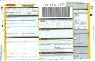 dhl shipment way bill mx diamond light source