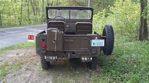 korean jeep 1953 willys m38a1 jeep korean war for sale