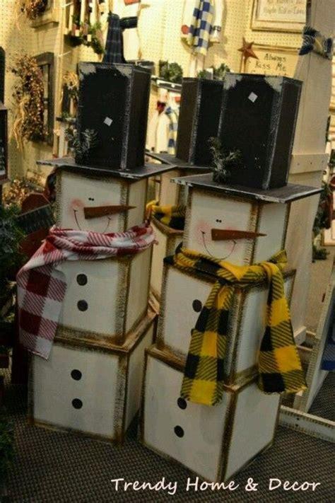 Better Homes And Gardens Craft Ideas - wooden snowmen craft ideas pinterest