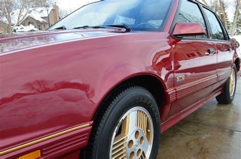 security system 1989 pontiac 6000 regenerative braking 1989 pontiac 6000 ste all wheel drive awd sedan 4 door 3 1l for sale in osseo minnesota