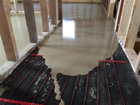 Heated Cement Floor by Heated Polished Concrete Floors Design Inc