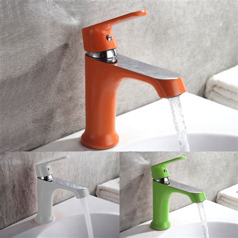 amenitee 2017 new faucet and installer orange household multi color bath kitchen basin faucet cold and