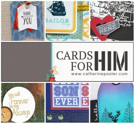 Catherine S Gift Card Online - cards for him is here blog hop catherine pooler designs