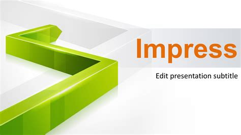 3d Green Line Powerpoint Template Powerpoint Templates Powerpoint Ppt Templates