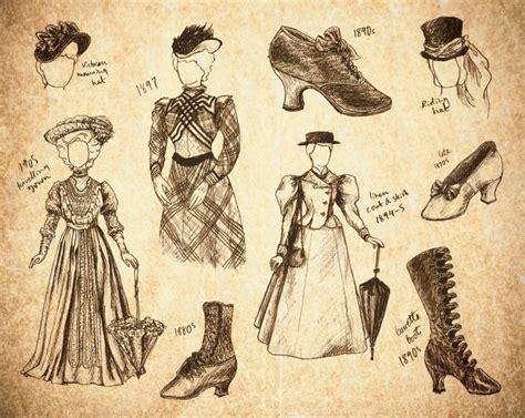 victorian design clothes steunk fashion sketches by skopseudonym on deviantart