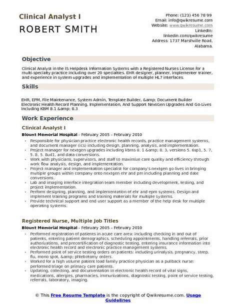 Healthcare Resume Sles