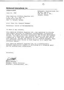 general letter of recommendation example best template