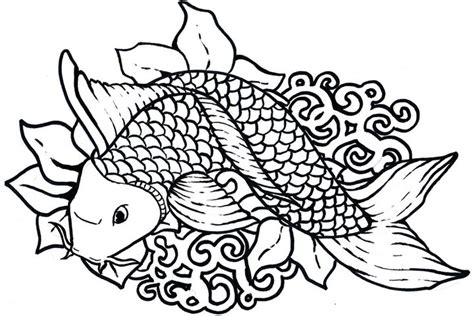 Tropical Fish Coloring Pages by Tropical Fish Coloring Page T8ls