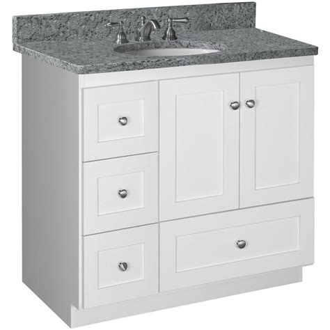 Kitchen Base Cabinets Home Depot Simplicity By Strasser Shaker 36 In W X 21 In D X 34 5
