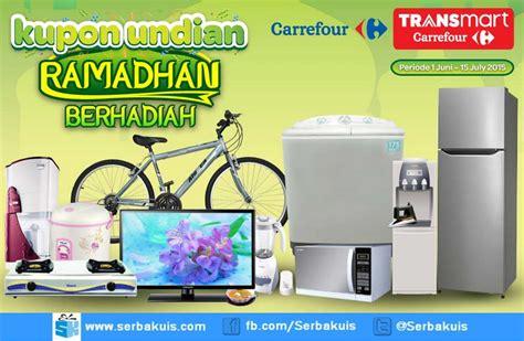 Mesin Cuci Carrefour kupon undian ramadhan berhadiah