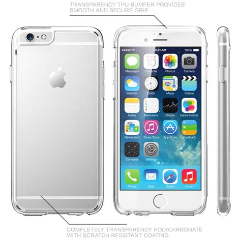 lax gadgets clear slim for iphone 6s 6s plus tanga