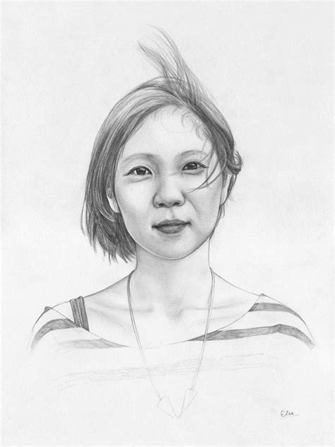 Portrait sketches full of humanity | Young Drawings
