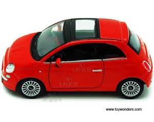 Kinsmart Fiat 500 2007 Fiat 500 Top W Sunrof 5345d 1 28 Scale Kinsmart