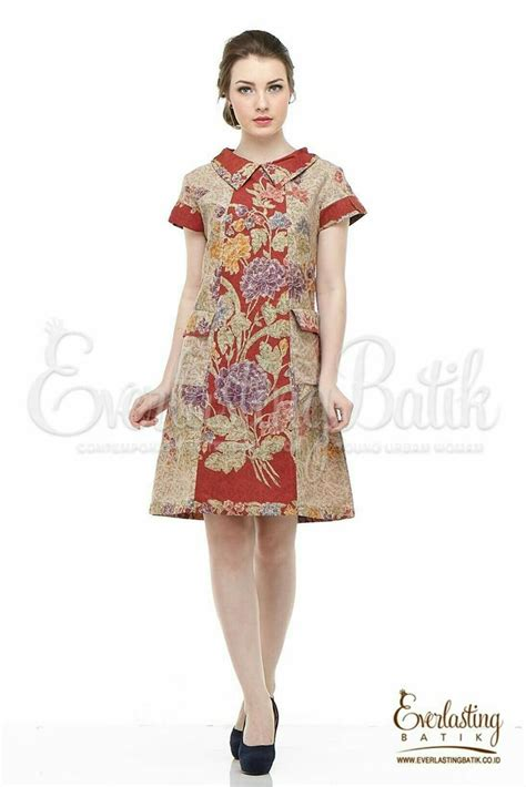 Blouse Batik Bagus Ani Cantika 30 best model baju batik dress images on batik