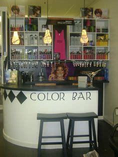 Vanity Salon And Color Bar by Great Idea For A Salon Client Ide Salong
