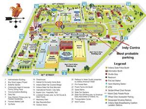 Indiana State Fair Map by Indiana State Fair Indy Contra Dance