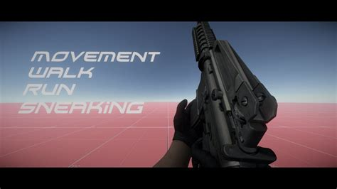 unity tutorial walking unity 5 tutorial make a fps movement walk run sneaking or