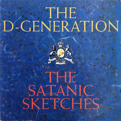 D Generation Sketches by D Generation The The Satanic Sketches 12 Inch Lp