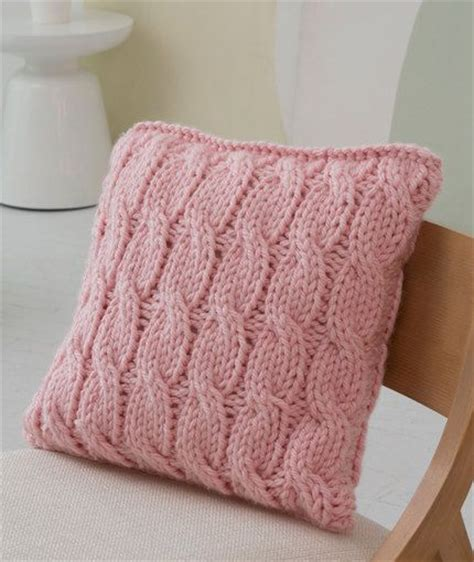 knitting pattern heart pillow cable yarns and patterns on pinterest
