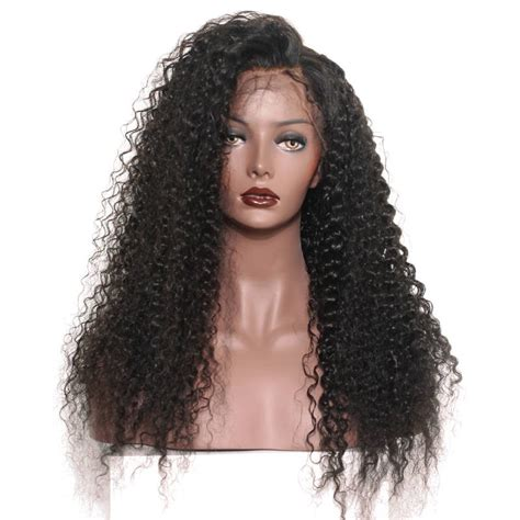 curl in front of hair pic lace front human hair wigs brazilian lace wigs deep curly