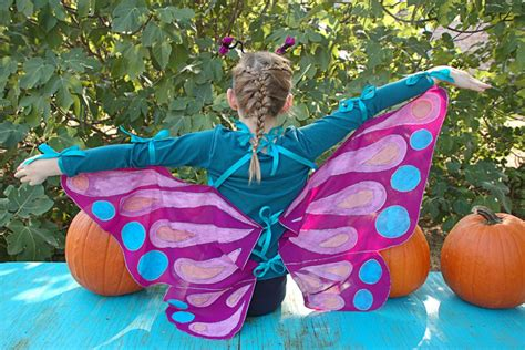 Handmade Butterfly Costume - easy costumes for hgtv