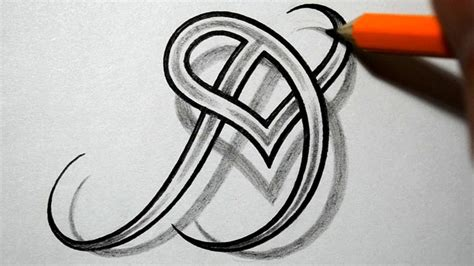 the letter d tattoo designs initial d and combined together celtic weave style