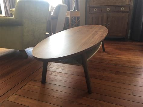 Ikea Stockholm Dining Table by Ikea Stockholm Walnut Veneer Coffee Table In Stonehaven