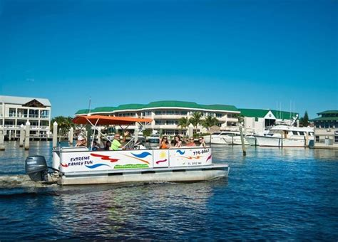fan boat naples fl the pontoon boats seat up to 16 people picture of