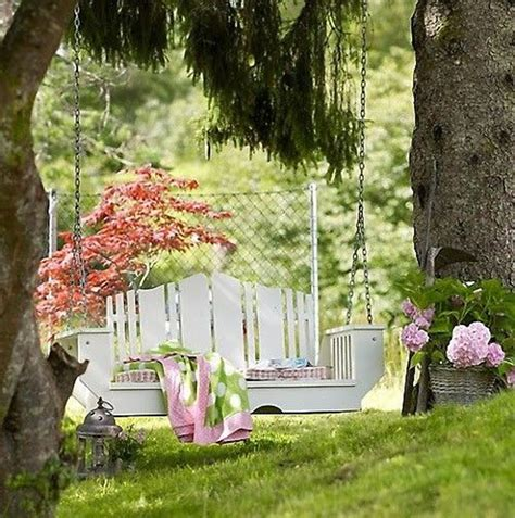 backyard tree swings outdoor swing garden ideas
