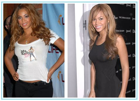 Celebrity Weight Loss Before After 6 Master Cleanse | sexy beyonce before and after nose job weight loss