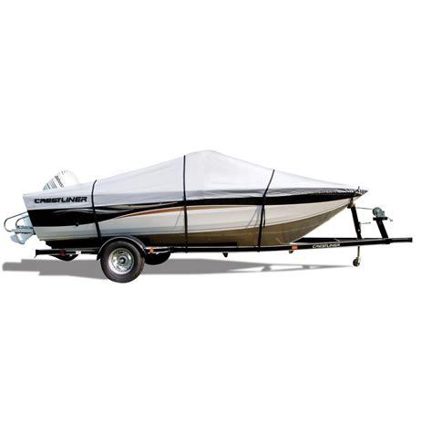 top gun custom boat covers attwood crestliner branded custom fit boat cover 118956