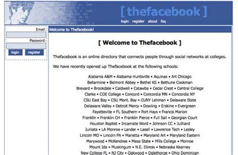 facebook masthead 10 screenshots of the old facebook designs