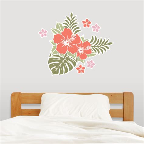 flowers wall stickers flower decal wall tc1027 flower wall decal sticker room nursery wall decor
