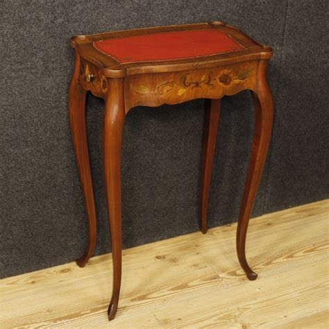 side table with two drawers inlaid side table with two drawers