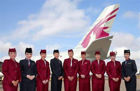 qatar airways cabin crew in photos the world s 10 best airline cabin crew a fly
