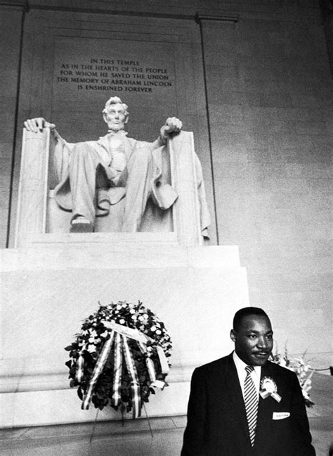 Presidents Day At The Lincoln Memorial by Yolanda King S History Room
