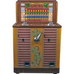 100 floors clover 25 cent bally mfg clover bell floor console slot