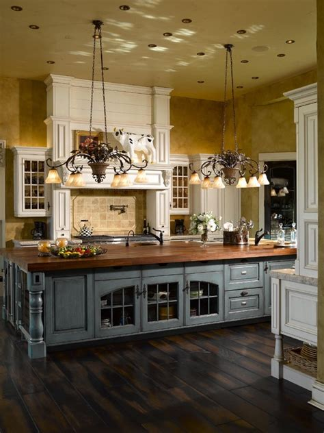 country kitchen with island 63 gorgeous country interior decor ideas shelterness