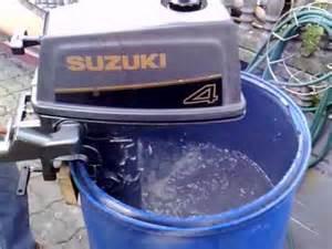 Suzuki 4hp 4 Stroke Outboard Suzuki 4 Hp Outboard Motor 1993r 2 Stroke Dwusuw