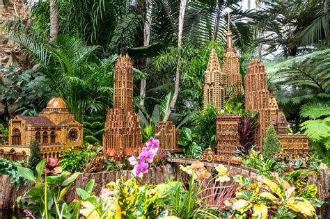 Manhattan Botanical Garden Nyc S New York Botanical Garden Show Returns For Its 26th Year Untapped Cities