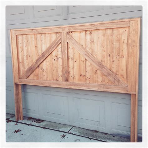 Barn Door Headboard Barn Door Headboard Rustic Home Decor