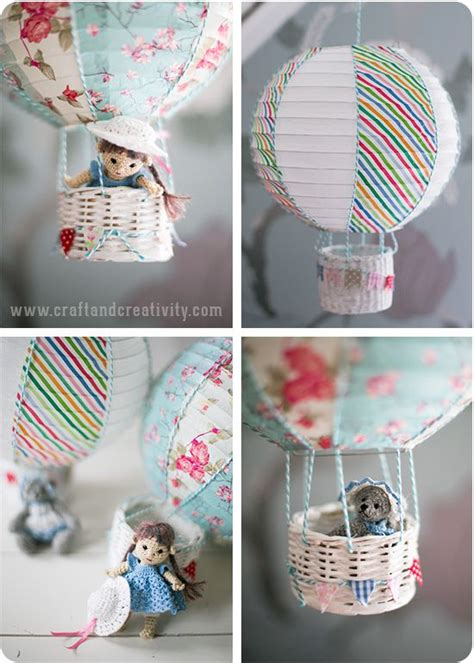 How To Make A Paper Balloon Fly - risla blir luftballong paper lantern turned into