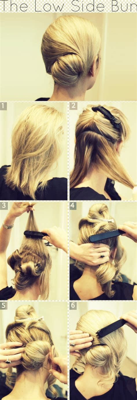 Hairstyles Buns Step By Step by Search Results For Step By Step Hair Buns Black