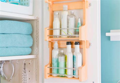 bathroom bottle storage boost storage in a small bathroom