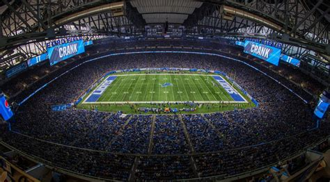 detroit lions enhance game day  production efficiency  ford field