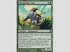Changeling Titan (LRW MTG Card) Reputable Site