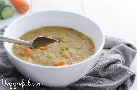 vegetarian split pea soup recipe dishmaps