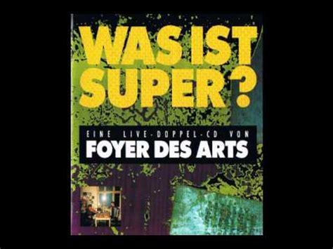 Foyer Des Arts by Foyer Des Arts Kaiserschnitt Live